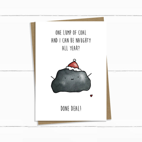 LUMP OF COAL HOLIDAY