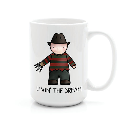 FREDDY LIVIN' THE DREAM MUG