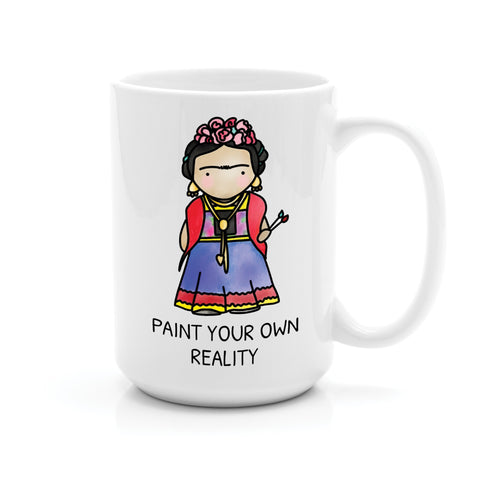 FRIDA PAINT YOUR OWN REALITY MUG