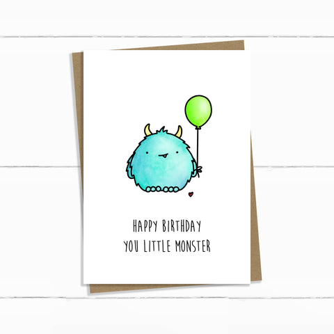 LITTLE MONSTER BIRTHDAY
