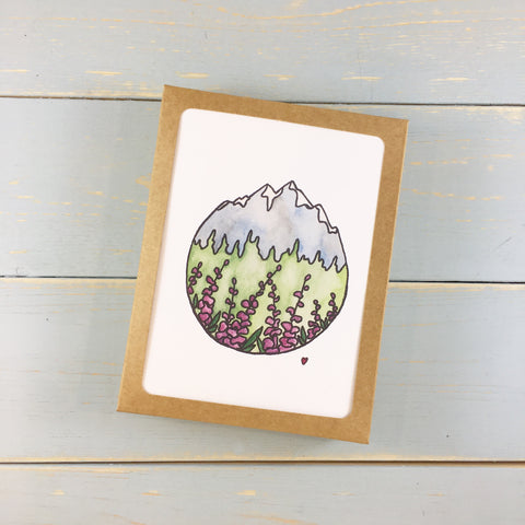 MOUNTAIN CREST NOTE CARD SET OF 6
