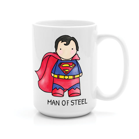 SUPERMAN MAN OF STEEL MUG