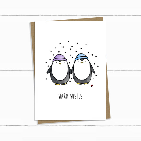 warm wishes penguins