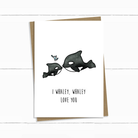 ORCAS WHALEY LOVE YOU