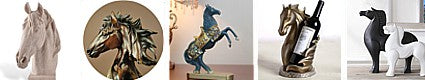 Collection Statuettes sculptures cheval