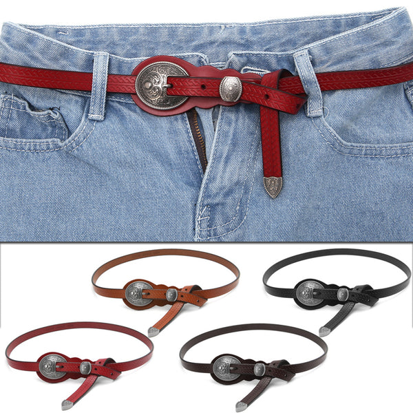 Ceinture Cuir Boucle mode Country