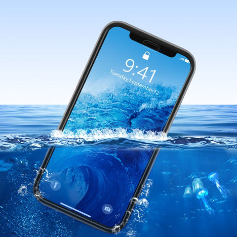 Coque de protection totale étanche Waterproof pour iPhone 5 à XR