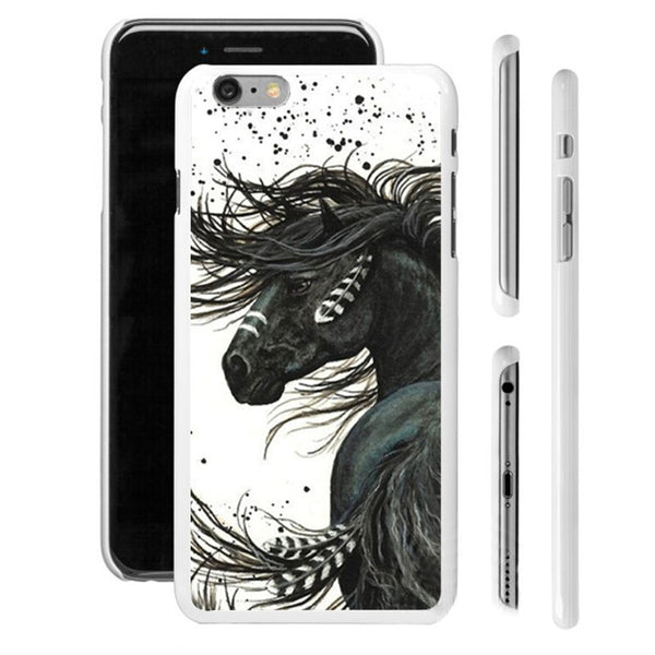 Coque cheval pour iPhone 5, 6, 6+, 7, 7+