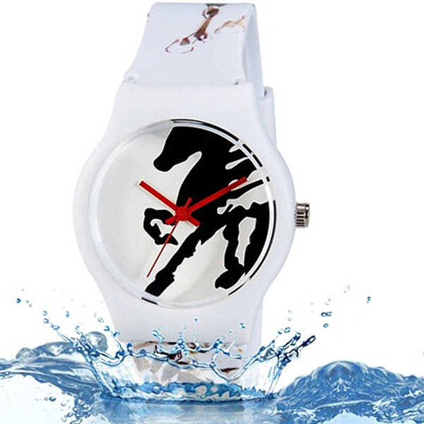 Montre Quartz Waterproof- Cadran Cheval