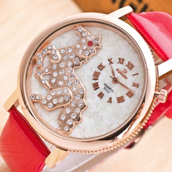 Montre Quartz - Fashion Mode - Cadran Cheval