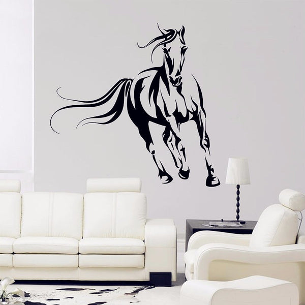 Sticker mural Déco Cheval au galop