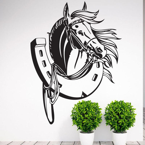 Sticker mural Déco Fer à cheval