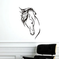Sticker mural Déco cheval