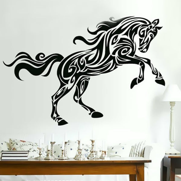 Sticker mural Déco cheval Style