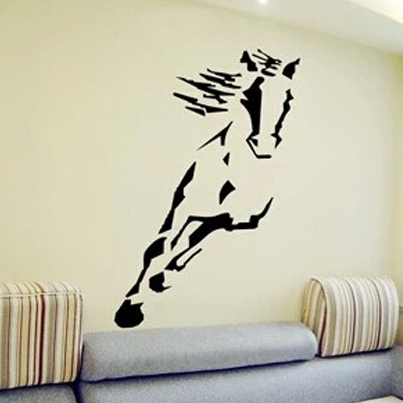 sticker mural d co cheval chevaux passion. Black Bedroom Furniture Sets. Home Design Ideas