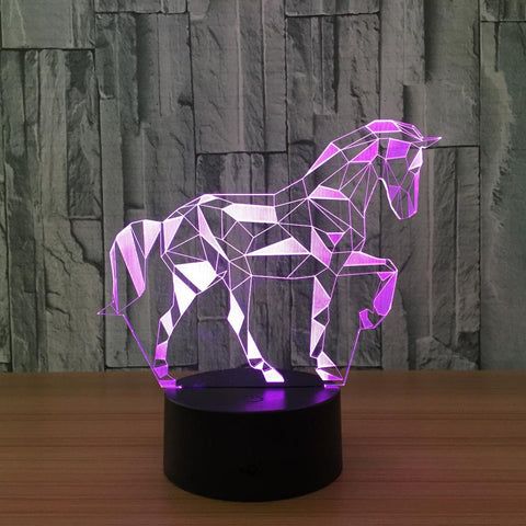 lampe de chevet veilleuse chevaux passion. Black Bedroom Furniture Sets. Home Design Ideas