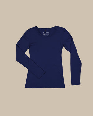 Long Sleeve Scoop