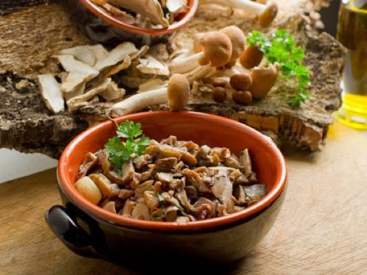 Chicken with Fennel and Wild Mushrooms