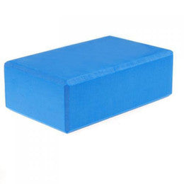 "3"" Blue Foam Yoga Block"