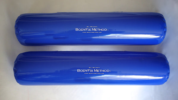 Set of 2 Inflatable Roll Pillows