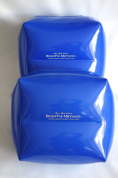Set of 2 Inflatable Square Pillows