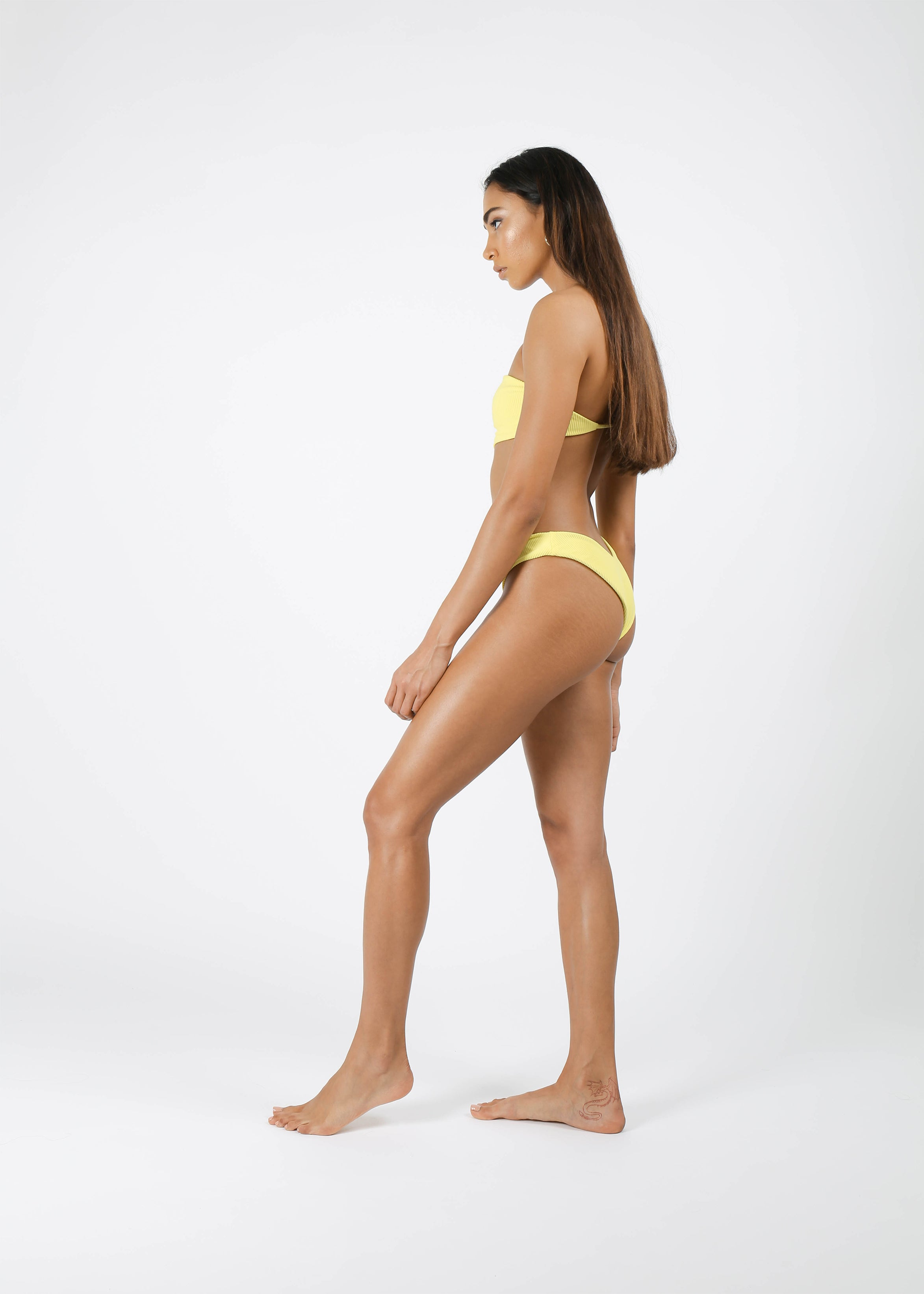 Izzie Bottom - Ribbed Lemon