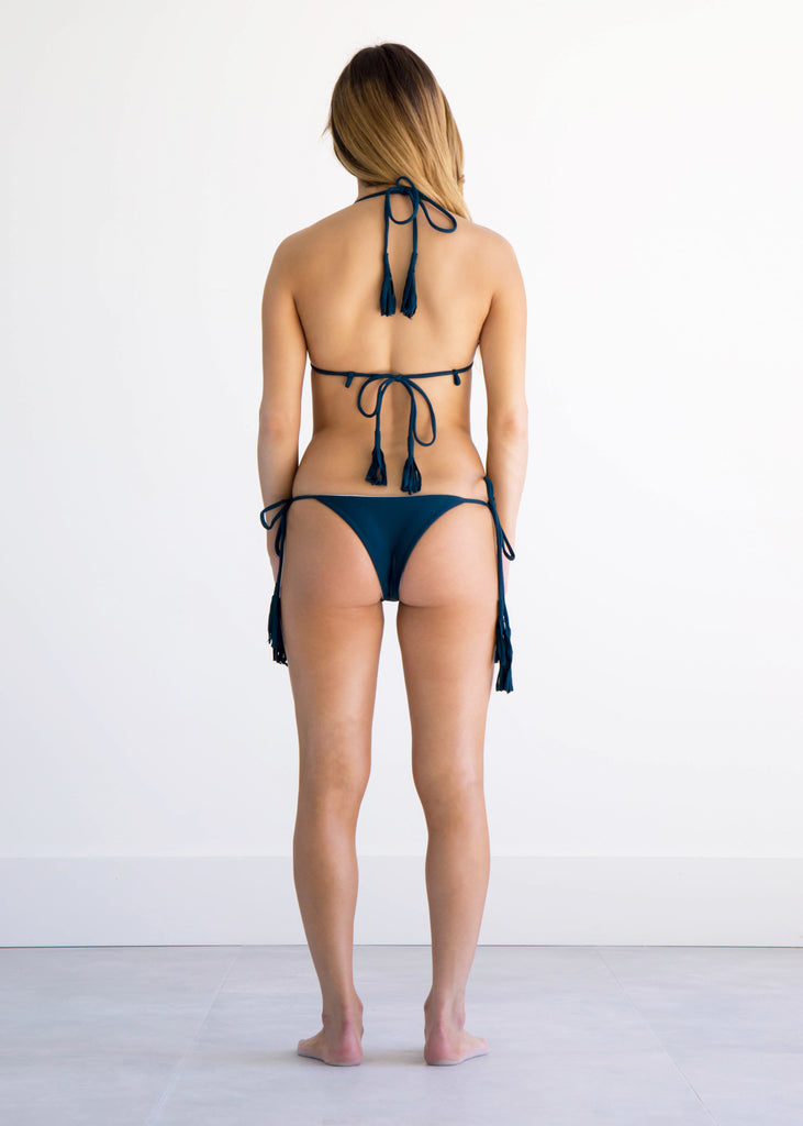 NIRVANIC SWIM:2018 KAIA BOTTOM-EXTRA SMALL / JUNGLE