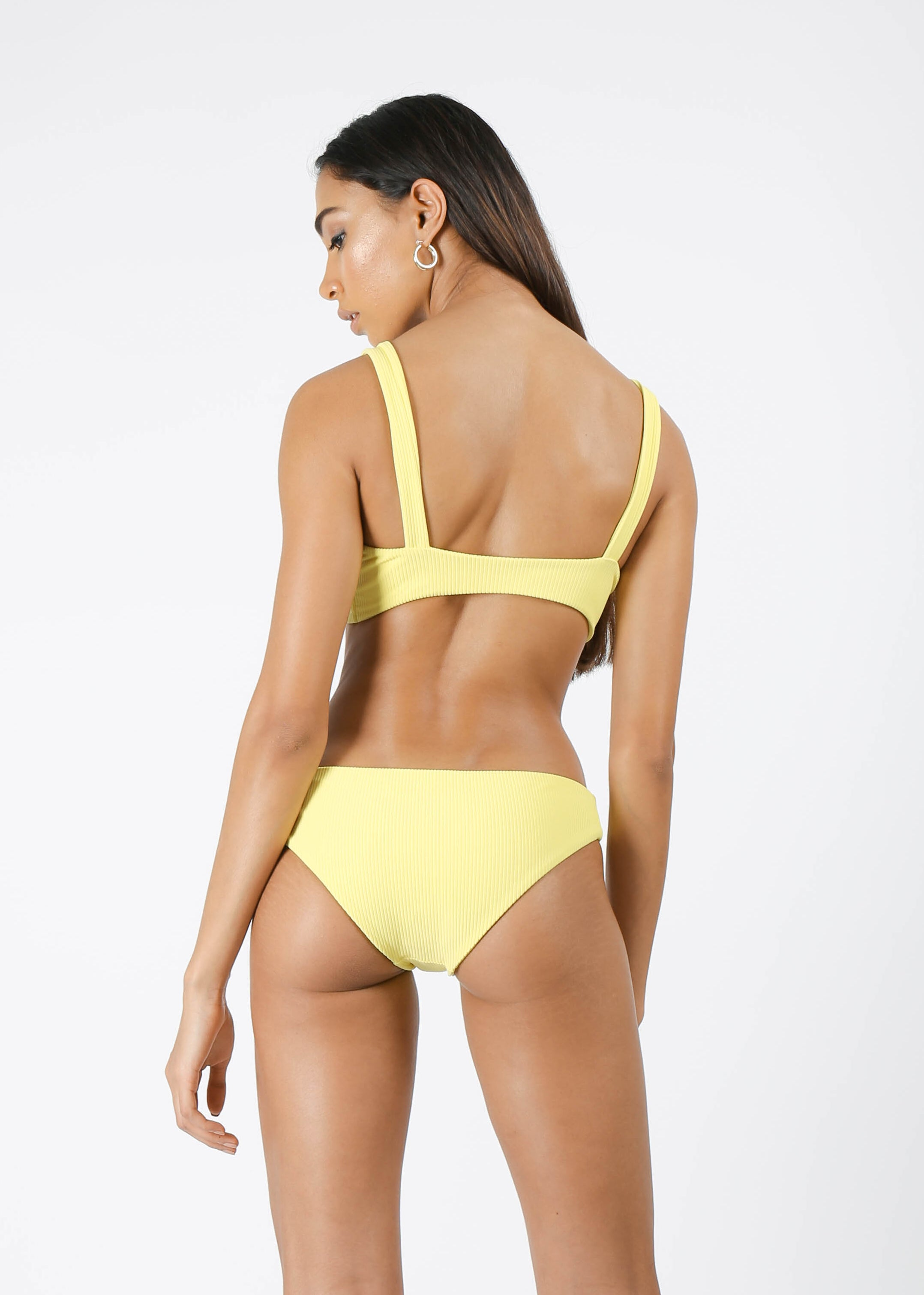 Rumi Bottom - Ribbed Lemon