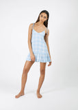 Summer Dress - Island Plaid