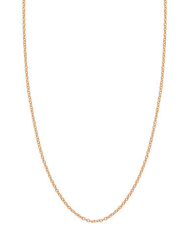 Chain: 1.5mm Rose Gold