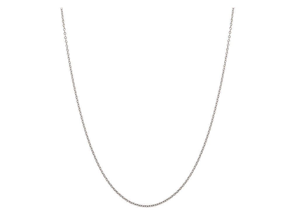 Chain: 1.3mm Silver