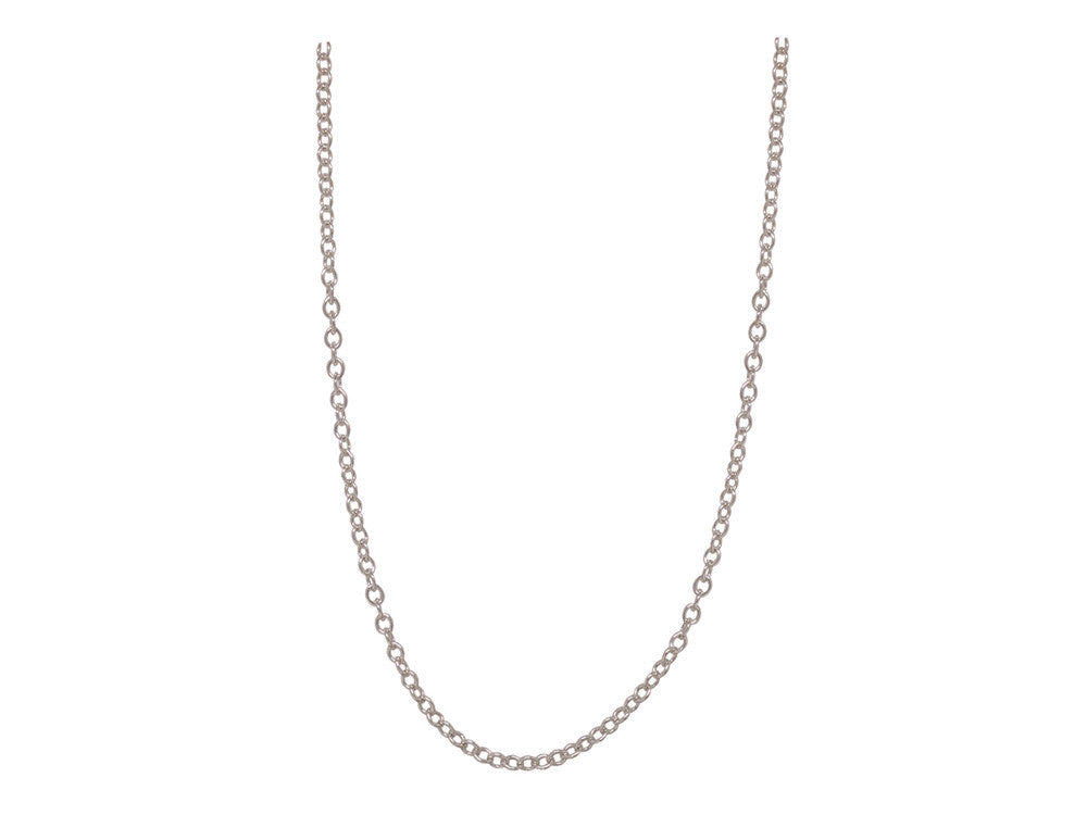 Chain: 3mm Silver