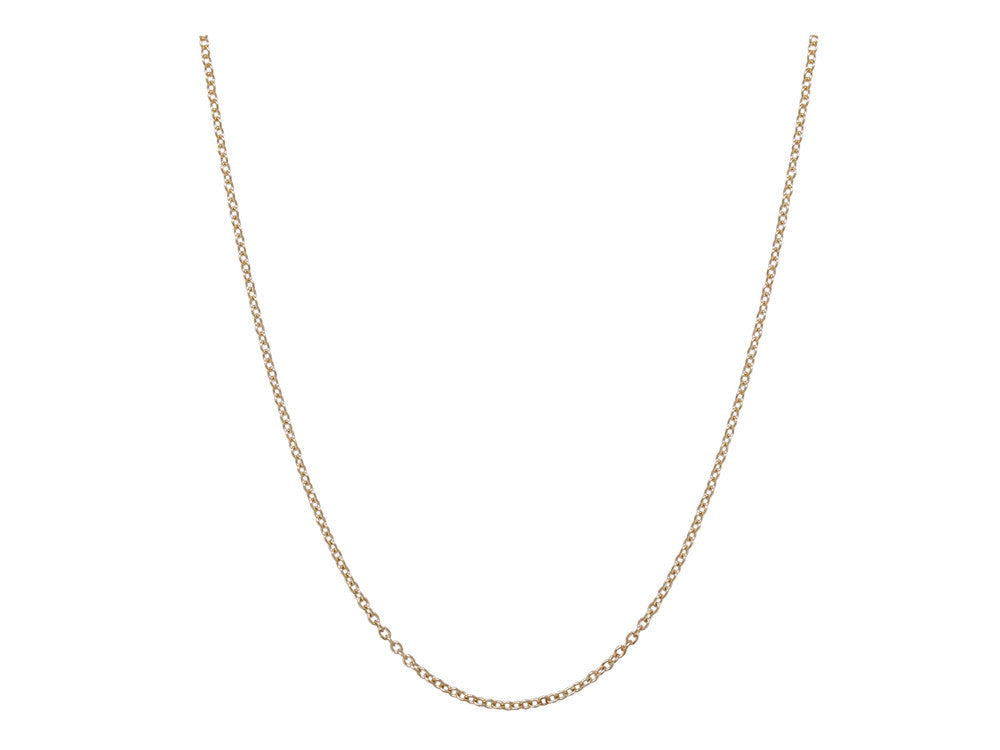 Chain: 1.5mm Yellow Gold