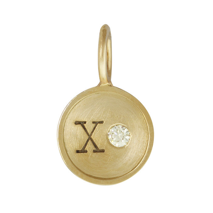 XO Diamond Charm