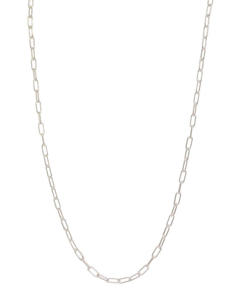 Chain: 3mm Long Link Silver