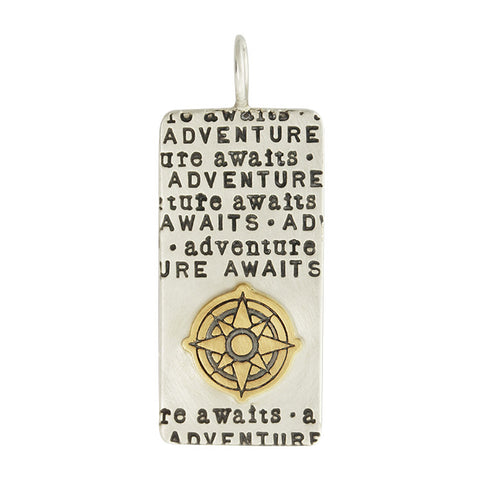 Adventure Awaits ID Tag