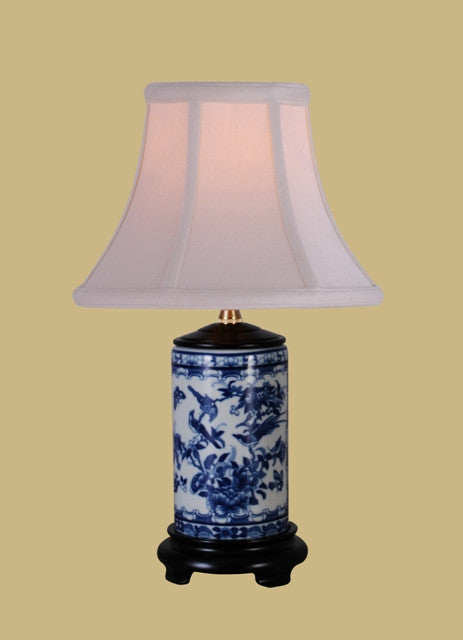 Canton Blue & White Lamp