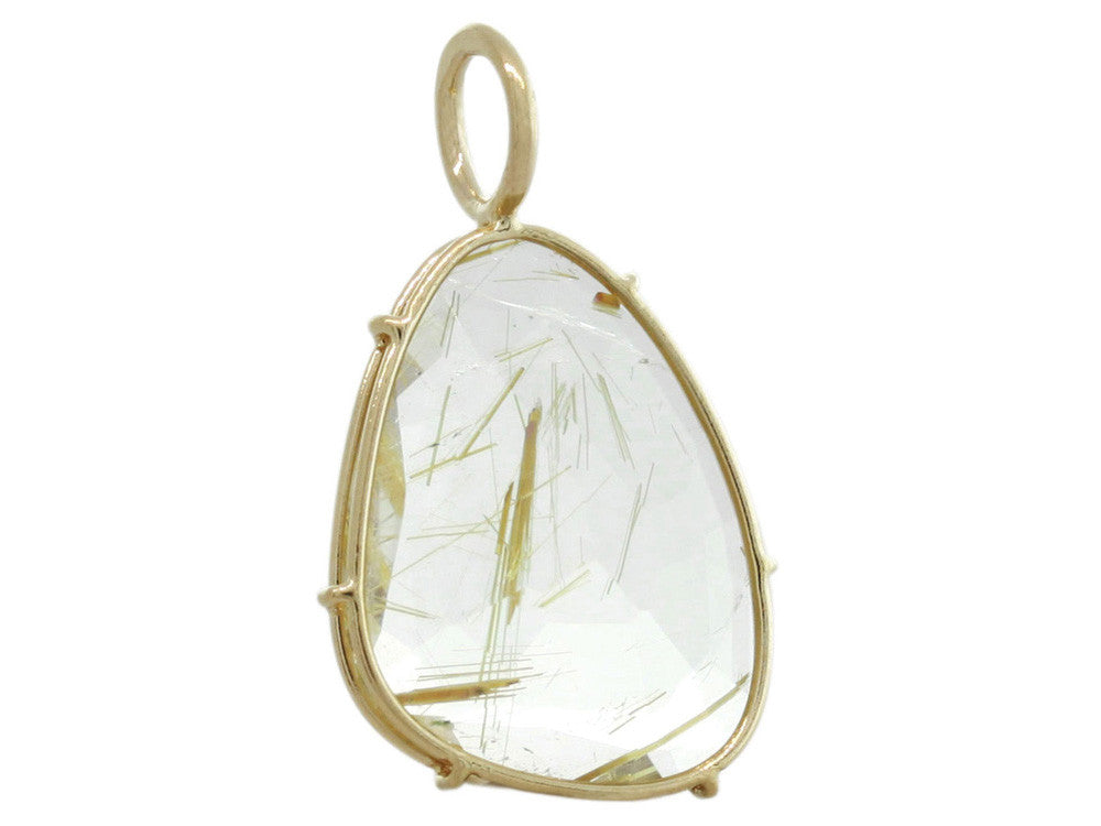 Harriet Stone: Gold Rutilated Quartz