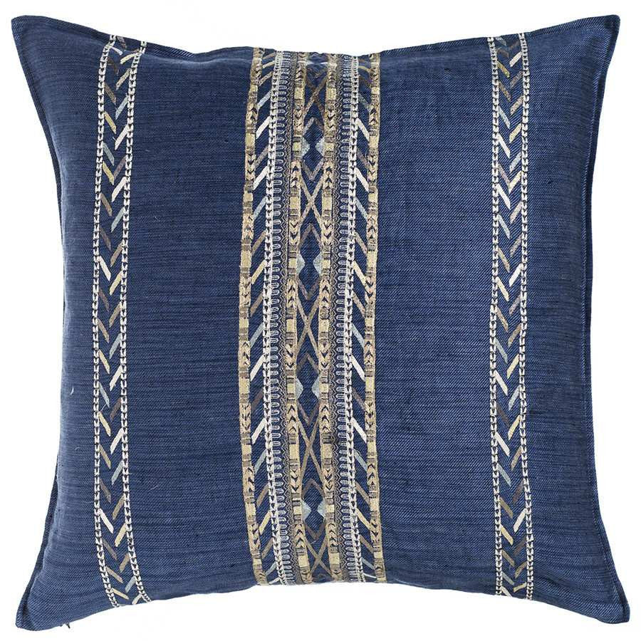 Pillow 20x20: Hali Indigo
