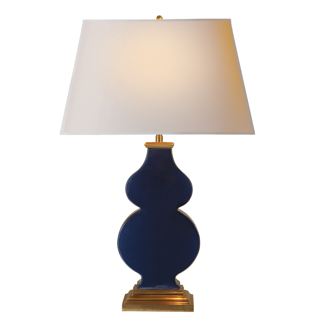 Anita Table Lamp - Midnight Blue Porcelain