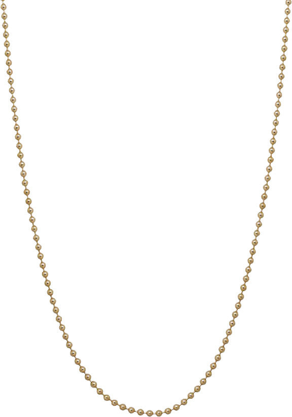 Chain: Ball Yellow Gold