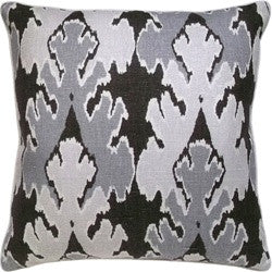 Bengal Bazar Graphite Pillow