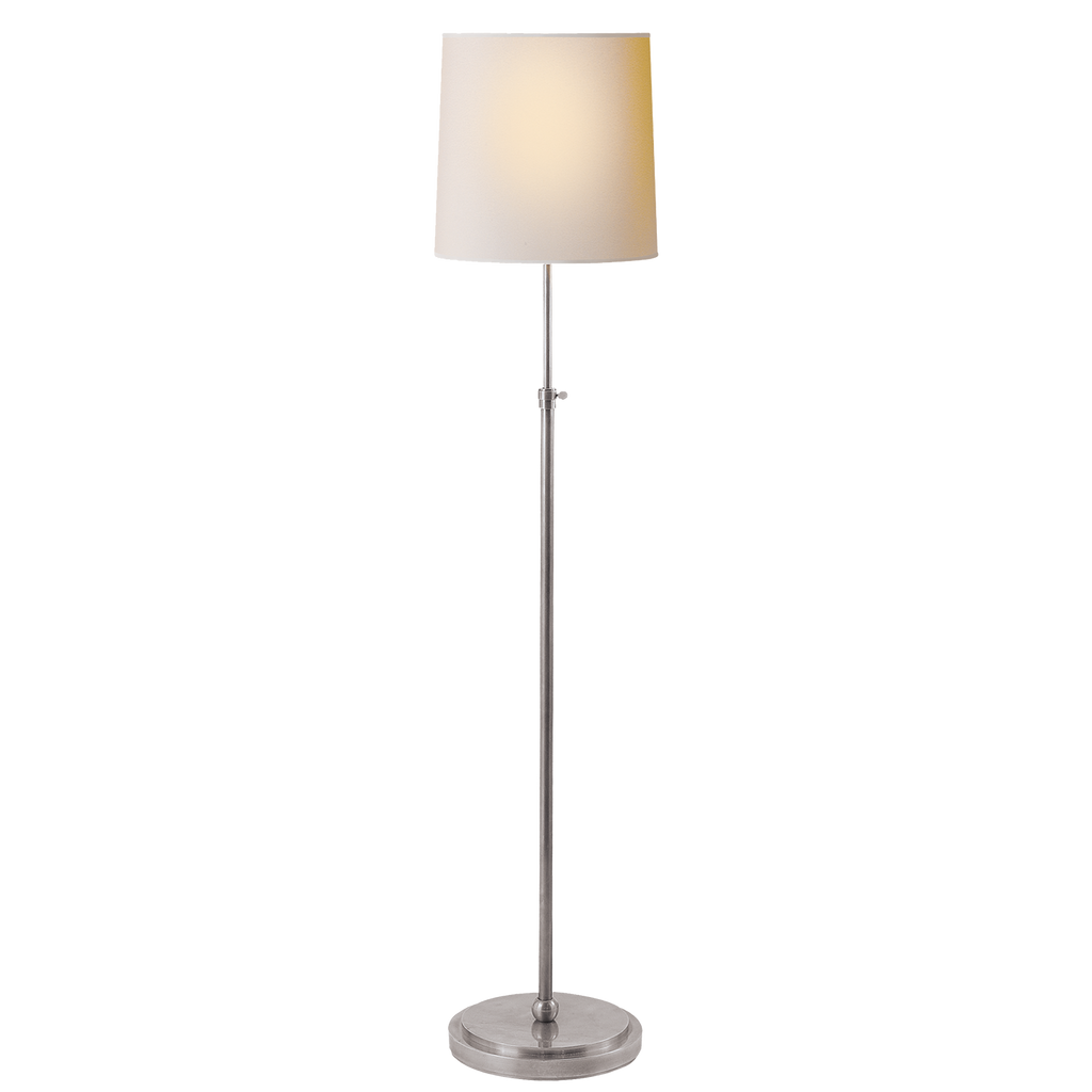 Bryant Floor Lamp - Antique Silver