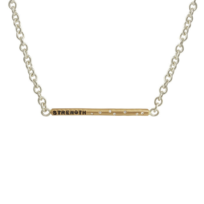 Strength Diamonds Necklace
