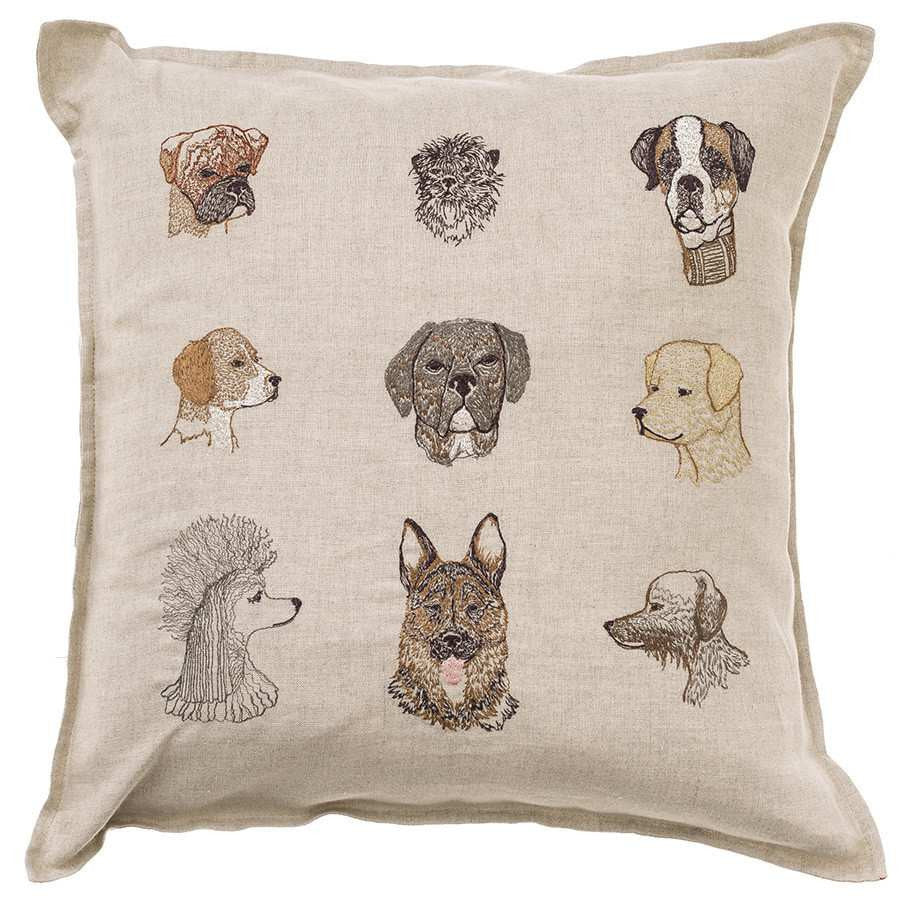 Pillow 16x16: Dogs