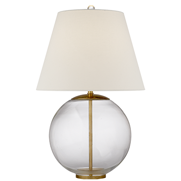 Morton Table Lamp - Clear Glass