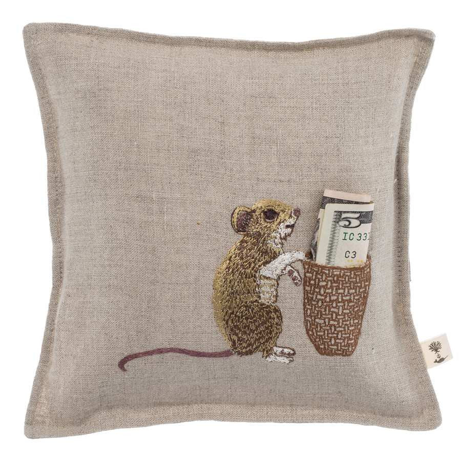 Tooth Fairy Keepsake Pillow: Mouse