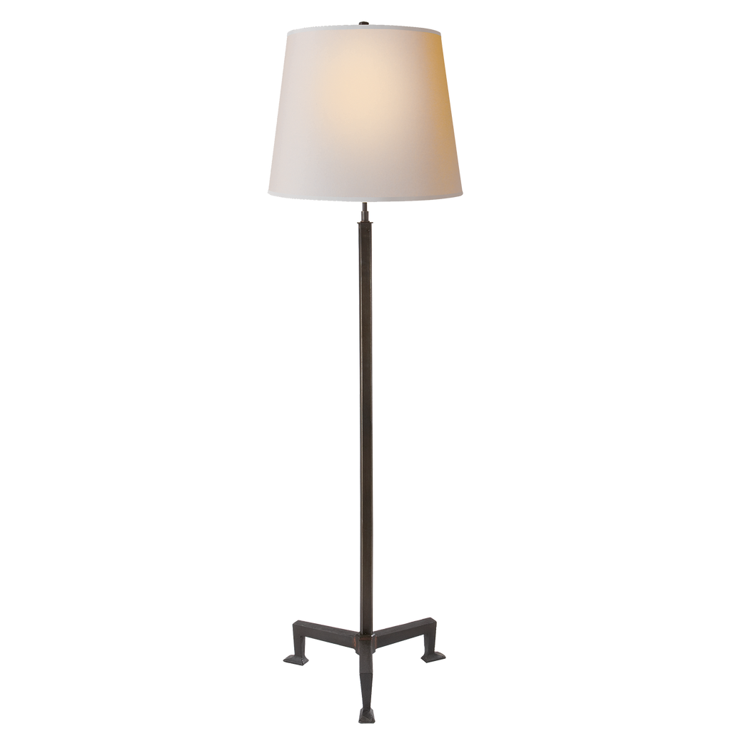Parish Floor Lamp - Aged Iron
