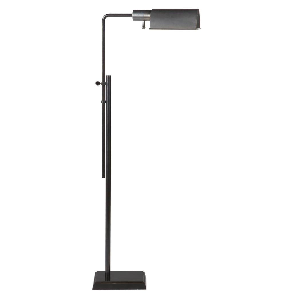 Pask Pharmacy Floor Lamp - Bronze