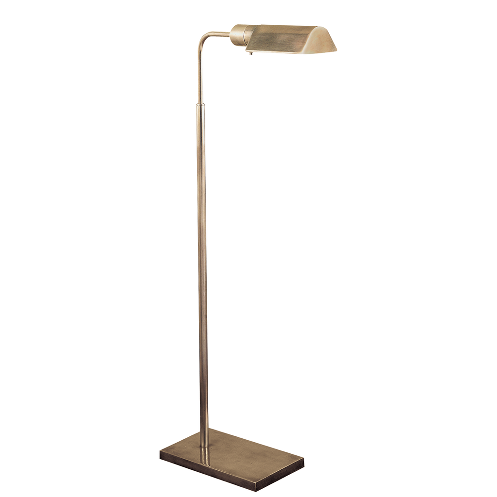 Studio Adjustable Floor Lamp - Antique Nickel